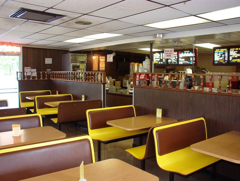 Restaurant Interior Photo